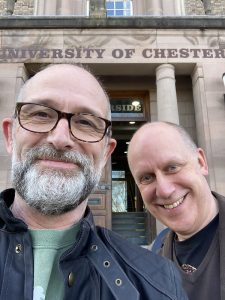 It's always fun working with ACEs at The University of Chester