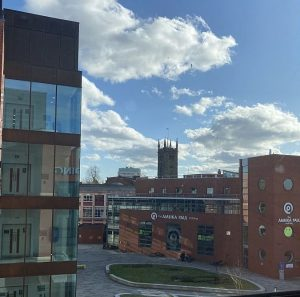Image of the University of Wolverhampton from the PA Skills suite